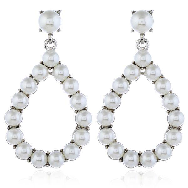 Alloy Fashion Geometric   (White white K) NHKQ2286-White-white-K