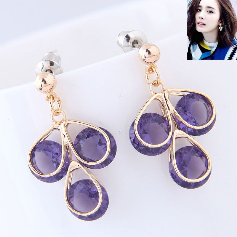 Copper Korea earring  Fine Jewelry NHNSC14754