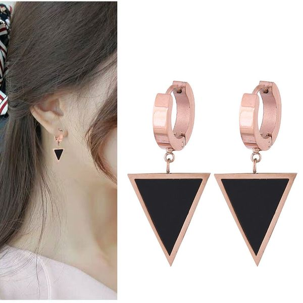 Titanium&Stainless Steel Korea earring  Fine Jewelry NHNSC14845