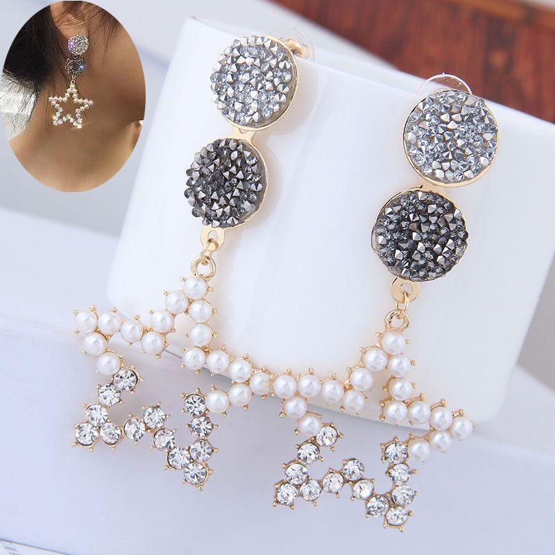 Alloy Fashion earring  Fashion Jewelry NHNSC14873
