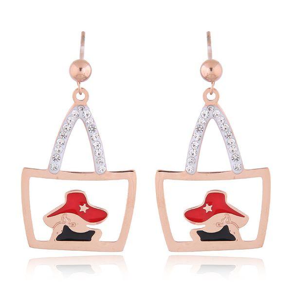 Titanium&Stainless Steel Korea earring  Fine Jewelry NHNSC14896