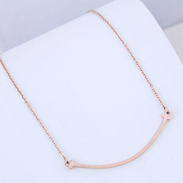Titanium&Stainless Steel Korea necklace  Fine Jewelry NHNSC14905
