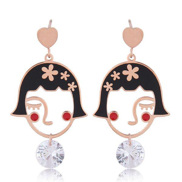 Titanium&Stainless Steel Korea necklace  Fine Jewelry NHNSC14909