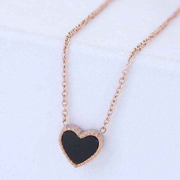 Titanium&Stainless Steel Korea necklace  Fine Jewelry NHNSC14908
