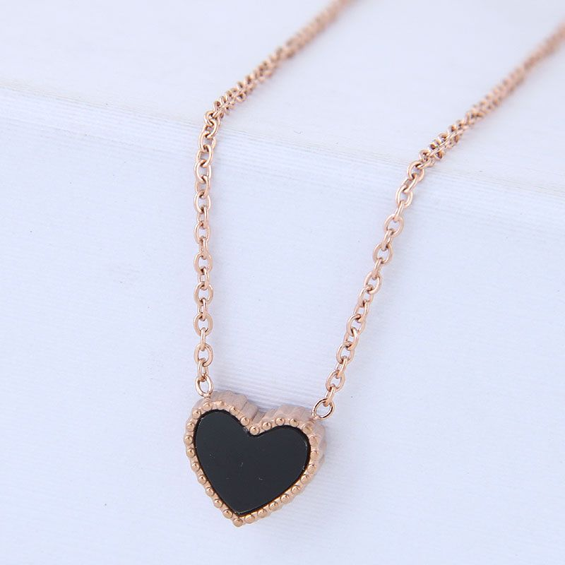 Titanium&Stainless Steel Korea necklace  Fine Jewelry NHNSC14908