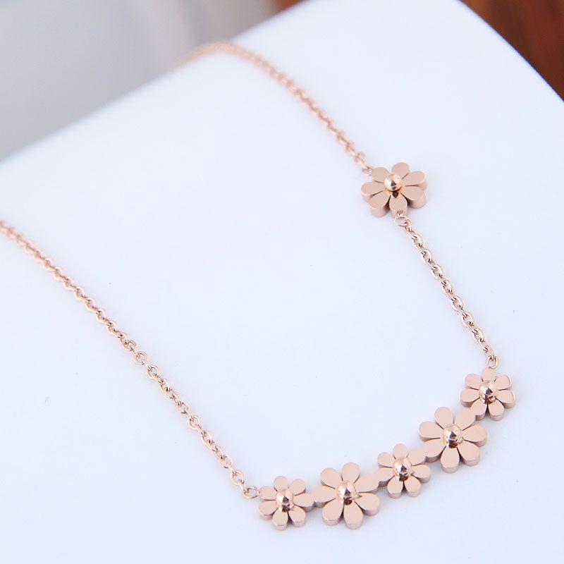 TitaniumStainless Steel Korea necklace  Fine Jewelry NHNSC14906
