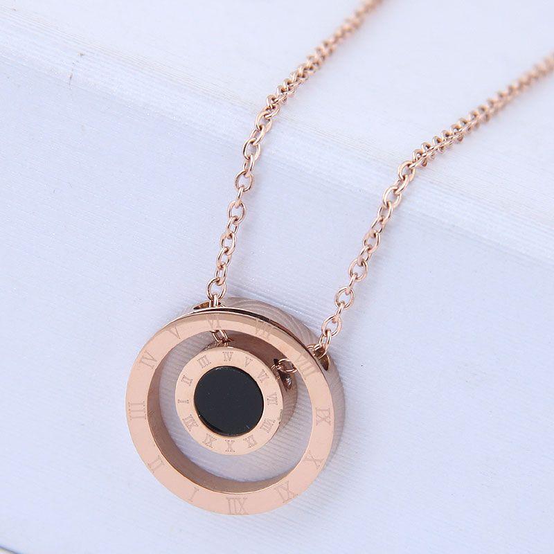 Titanium&Stainless Steel Korea necklace  Fine Jewelry NHNSC14915