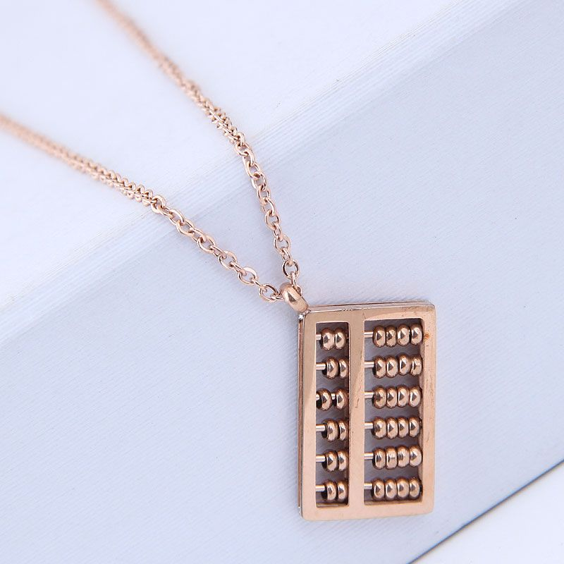 TitaniumStainless Steel Korea necklace  Fine Jewelry NHNSC14916