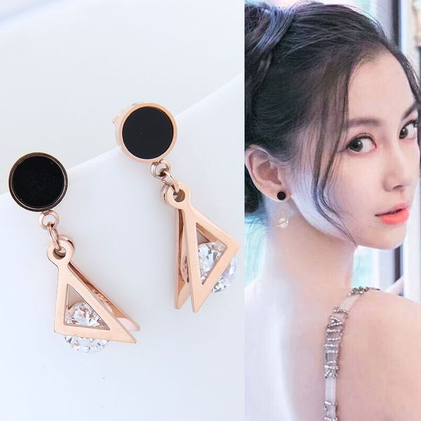 Titanium&Stainless Steel Korea earring  Fine Jewelry NHNSC14925