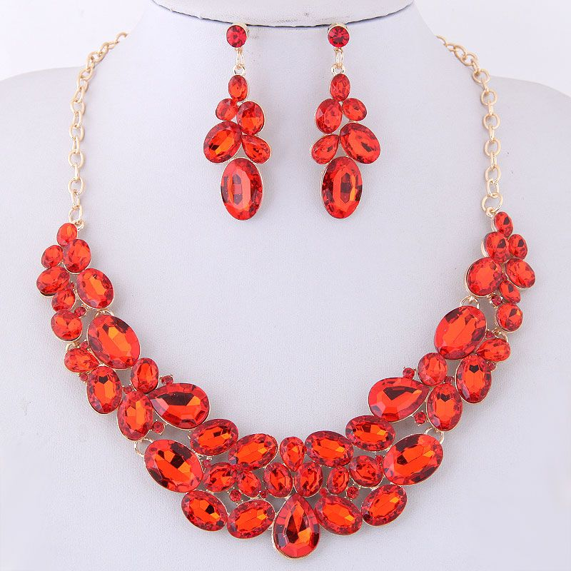 Alloy Fashion necklace  Fashion Jewelry NHNSC14929