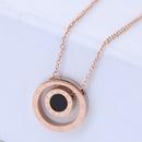 TitaniumStainless Steel Korea necklace  Fine Jewelry NHNSC14915