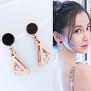 TitaniumStainless Steel Korea earring  Fine Jewelry NHNSC14925