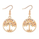 Alloy EarringsAcacia Tree A Champagne Alloy + Color Fine Jewelry NHKSE30203
