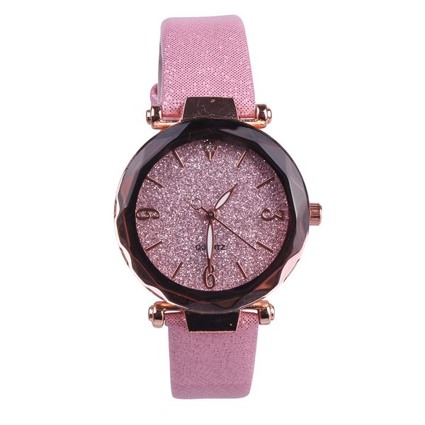 Alloy Fashion  Ladies watch  (1-pink)   NHMM2262-1-pink