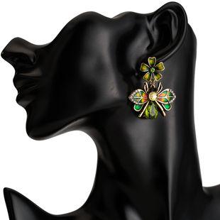 Acrylic Fashion Animal earring  (green) NHJE2375-green's discount tags