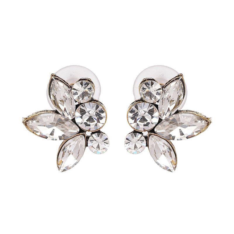 Alloy Fashion Flowers earring  (51444) NHJJ5377-51444