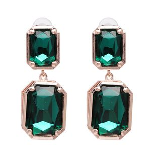 Alloy Fashion Geometric earring  (green) NHJJ5386-green's discount tags