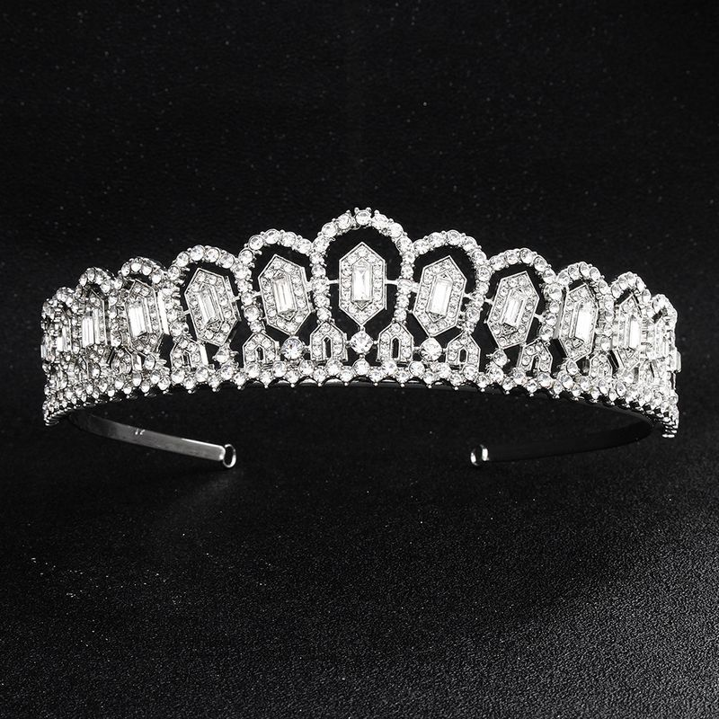 Imitated crystalCZ Fashion Geometric Hair accessories  Alloy NHHS0620Alloy