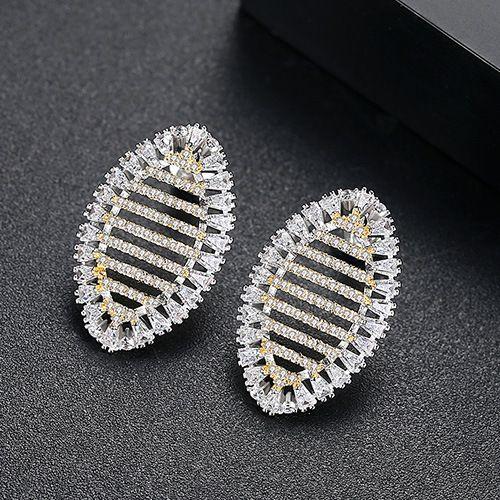 Alloy Korea Geometric earring  (18k alloy-T01I12) NHTM0605-18k-alloy-T01I12
