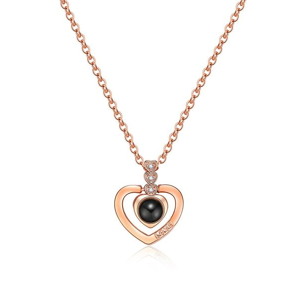 Copper Fashion Sweetheart necklace  (61181588A) NHLP1415-61181588A