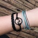 Alloy Fashion bolso cesta bracelet  black NHBQ1876black