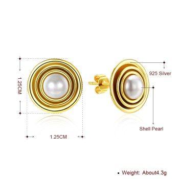 Alloy  Stud Earrings NHKL13467