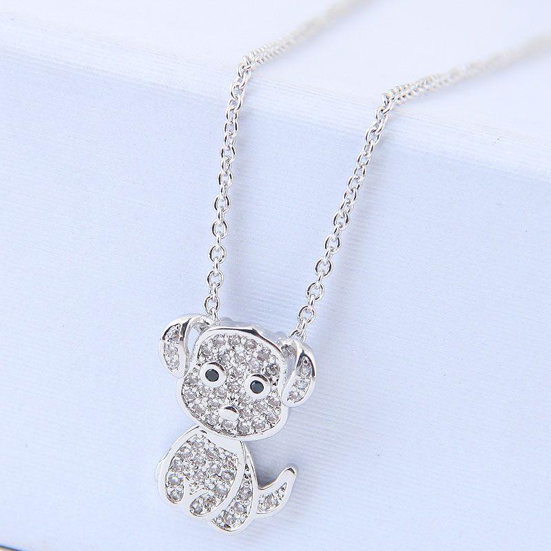 Copper Korea necklace NHNSC14568
