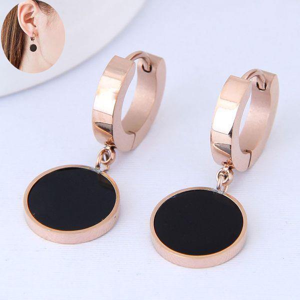 Titanium&Stainless Steel Korea earring NHNSC14580