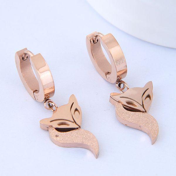 Titanium&Stainless Steel Korea earring NHNSC14584
