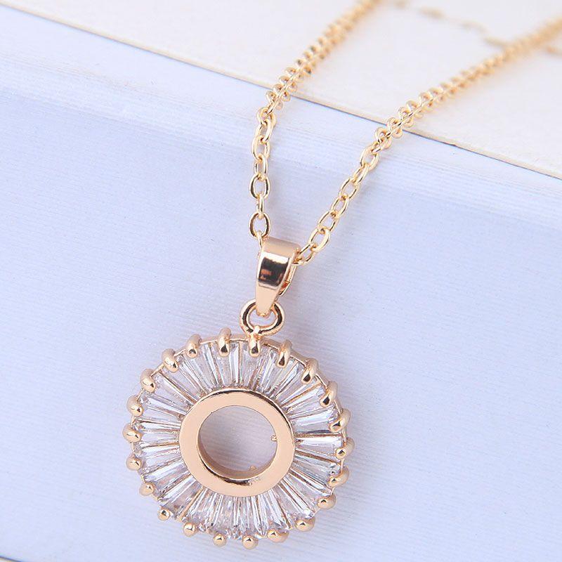 Copper Korea necklace NHNSC14615