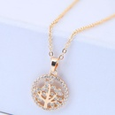 Copper Korea necklace NHNSC14571