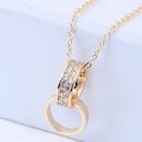Copper Korea necklace NHNSC14576