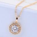 Copper Korea necklace NHNSC14608