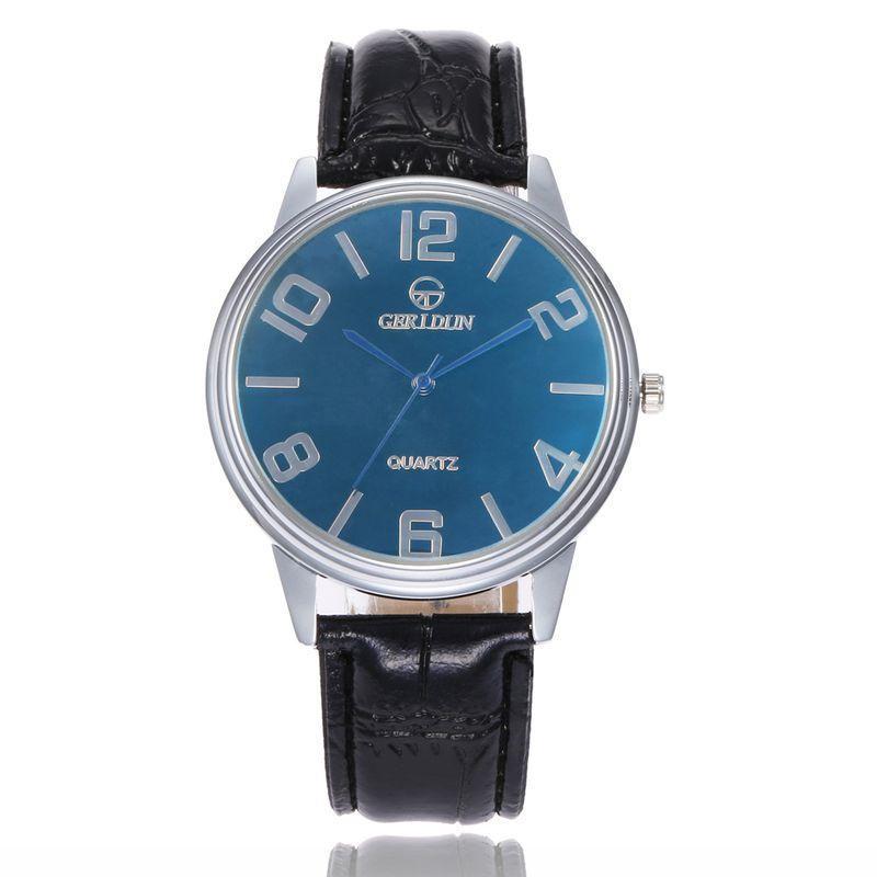 Alloy Fashion  Men watch  Black belt blue NHSY1814Blackbeltblue