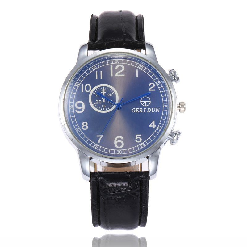 Alloy Fashion  Men watch  (Black belt blue) NHSY1820-Black-belt-blue
