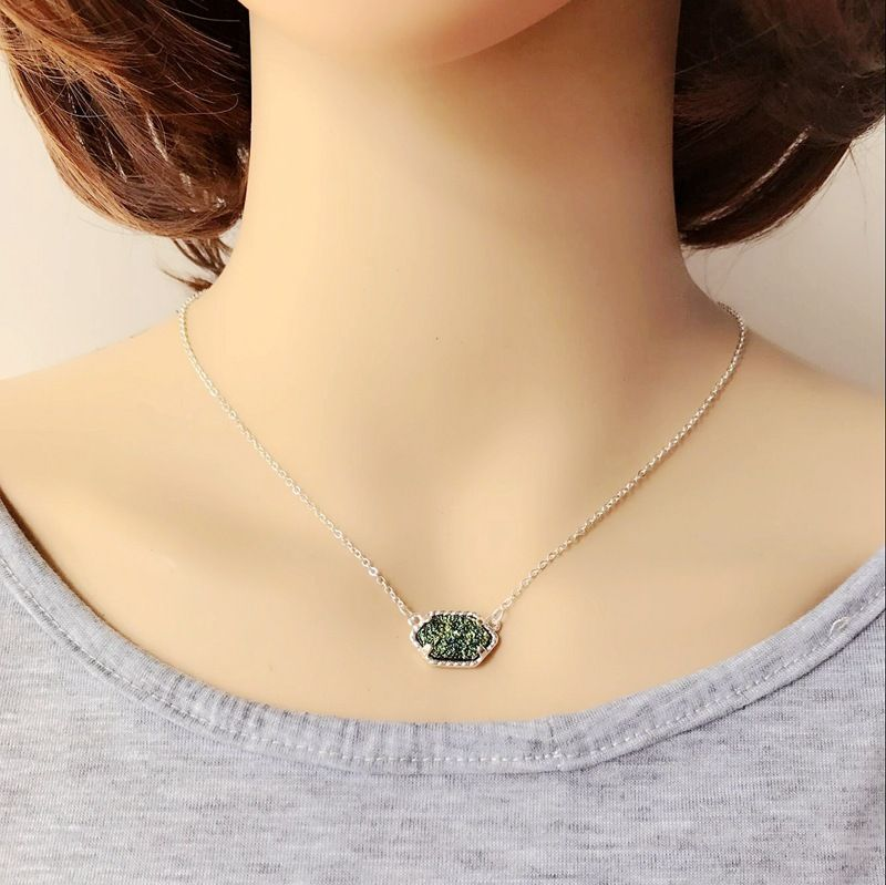 Copper Fashion  necklace  (green) NHOM0002-green