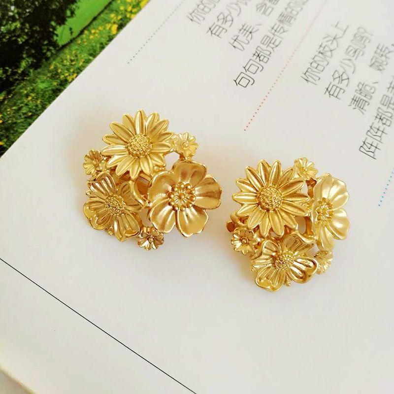 Alloy Fashion  earring  (Alloy) NHOM0035-Alloy