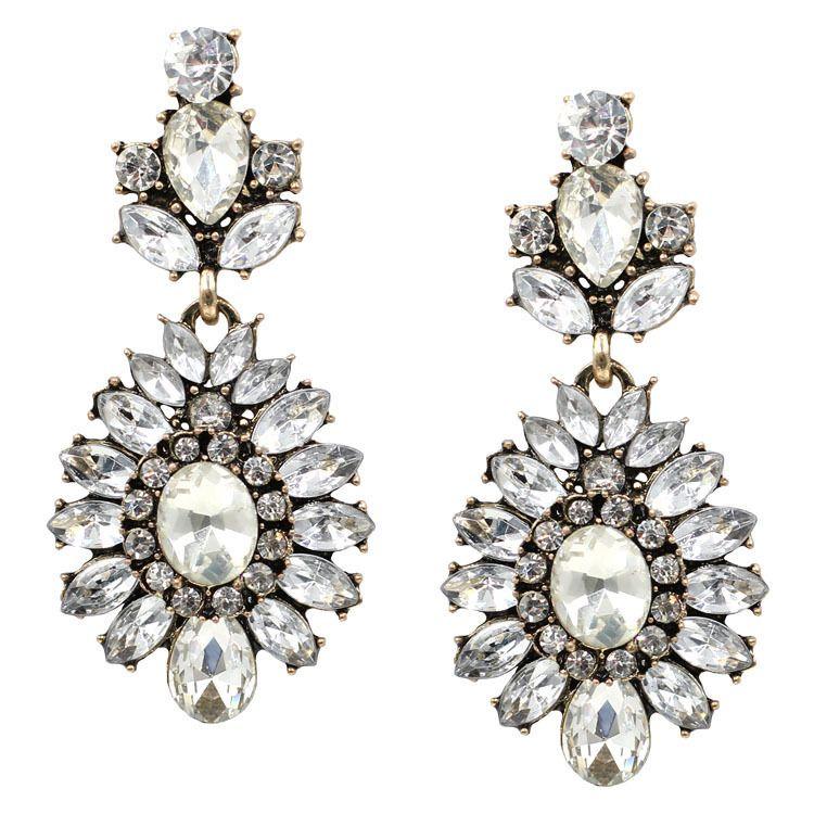 Alloy Fashion Geometric earring  (Short earrings) NHJJ4067-Short earrings