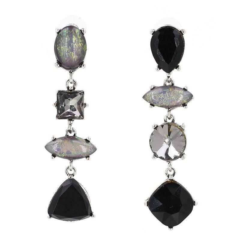 Alloy Fashion Geometric earring  black NHJJ4102black