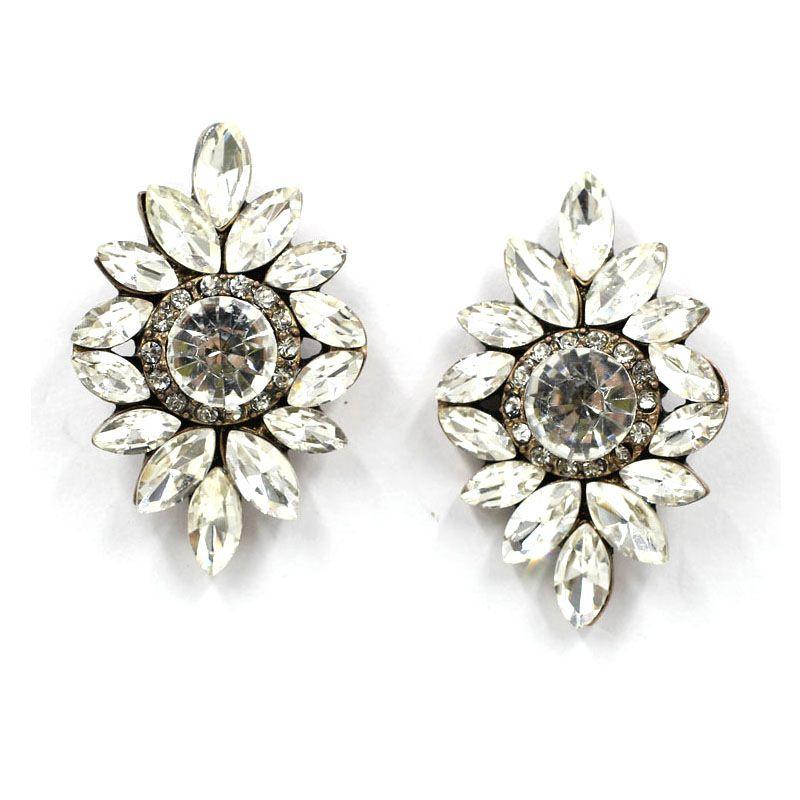 Alloy Fashion Geometric earring  white NHJJ4123white