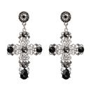 Alloy Fashion Geometric earring  black NHJJ4065black
