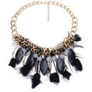 Alloy Fashion Geometric necklace  purple NHJJ4072purple