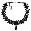 Alloy Fashion Animal necklace  black NHJJ4091black