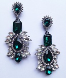 Alloy Fashion Geometric earring  green NHJJ4093green