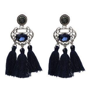 Alloy Bohemia Geometric earring  (blue) NHJJ4435-blue's discount tags