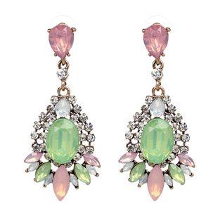 Alloy Fashion Animal earring  (green) NHJJ4427-green's discount tags