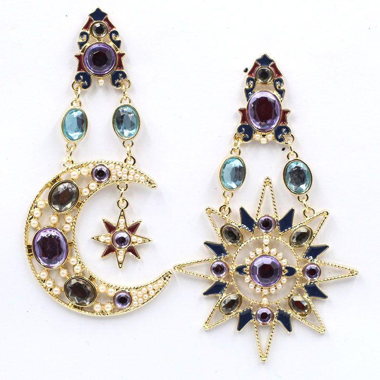 Alloy Fashion Geometric earring  (color) NHJJ4500-color