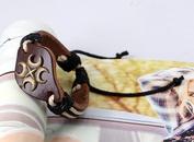 Leather Fashion Geometric bracelet  cross NHPK1304cross