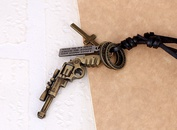 Alloy Fashion Geometric necklace  Ancient bronze NHPK1286Ancient bronze