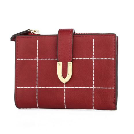 Portefeuille Alloy Korea (rouge) NHNI0361-rouge's discount tags